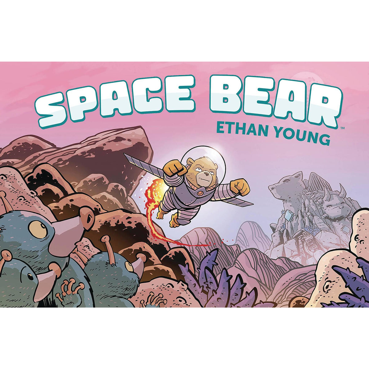 SPACE BEAR ORIGINAL GRAPHIC NOVEL
