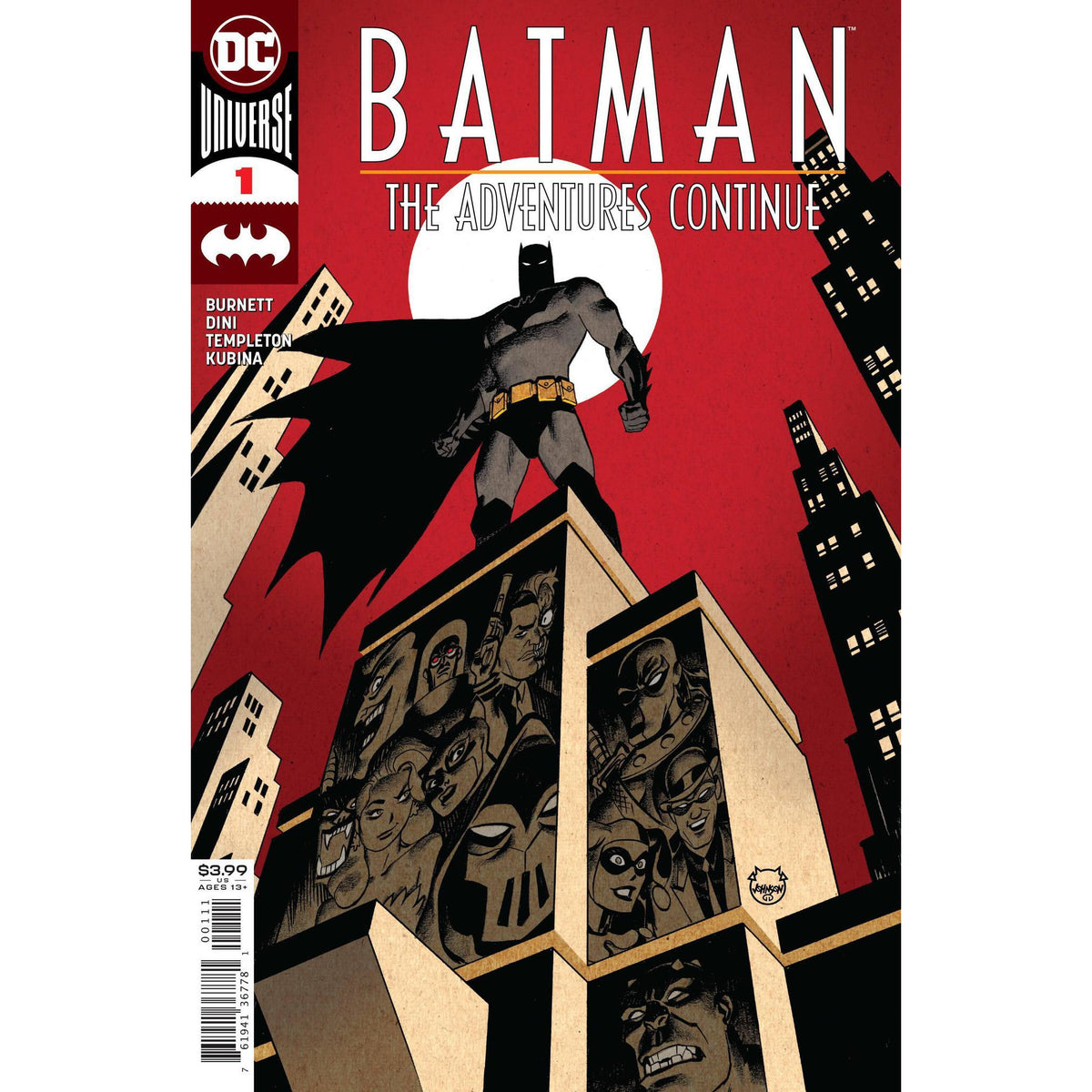 BATMAN: THE ADVENTURES CONTINUE #1 - MAIN COVER