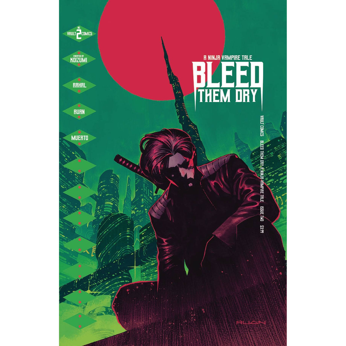 BLEED THEM DRY #2 - RUAN COVER A