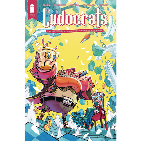 LUDOCRATS #1 (OF 5) COVER A STOKELY (MR)