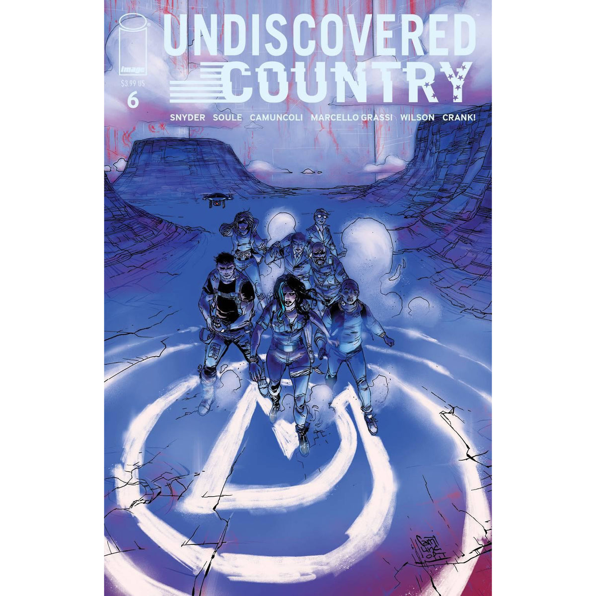 UNDISCOVERED COUNTRY #6 - COVER A CAMUNCOLI