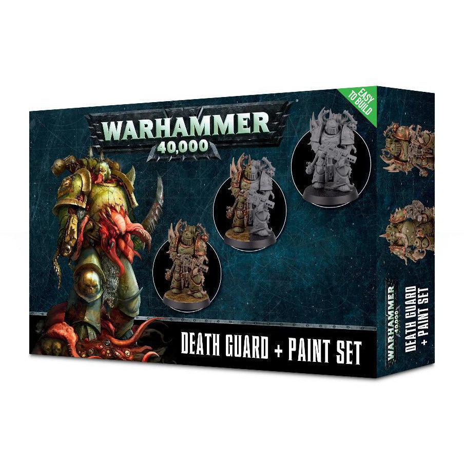 DEATH GUARD AND PAINT SET - WARHAMMER 40K