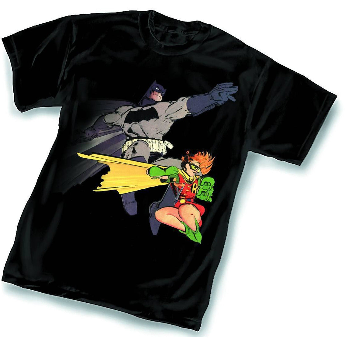 DARK KNIGHT AND ROBIN BY FRANK MILLER SHIRT L
