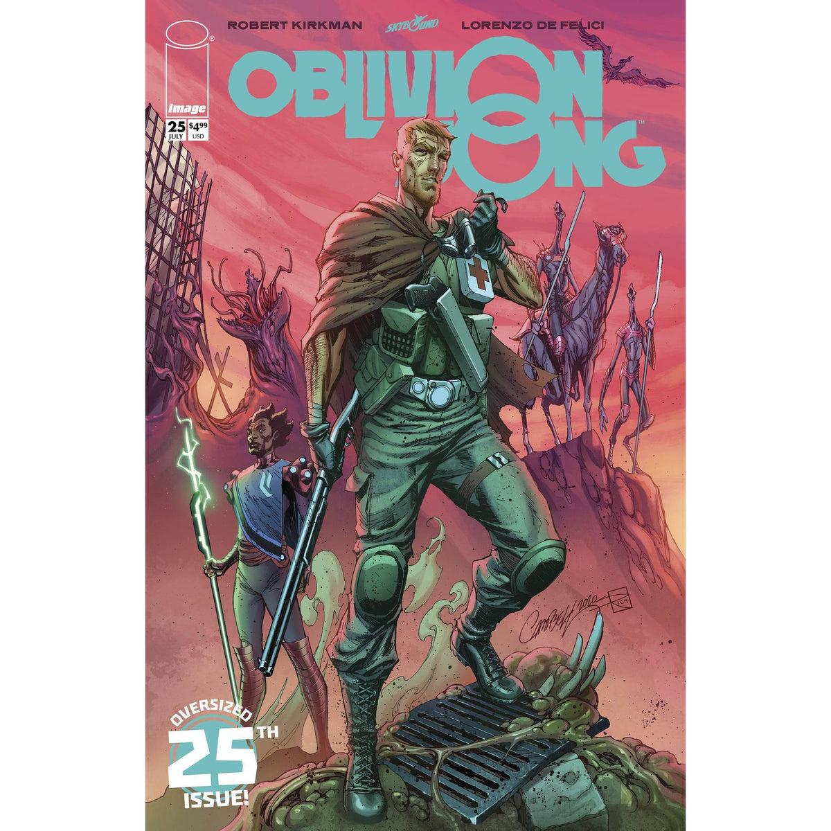 OBLIVION SONG BY KIRKMAN & DE FELICI #25 - CAMPBELL COVER E