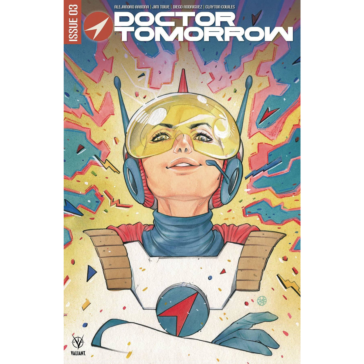 DOCTOR TOMORROW #3 (OF 5) PEACH MOMOKO VARIANT COVER B - VALIANT COMICS - NM