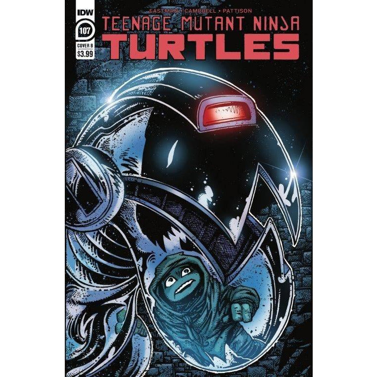 TMNT ONGOING #107 - EASTMAN COVER B