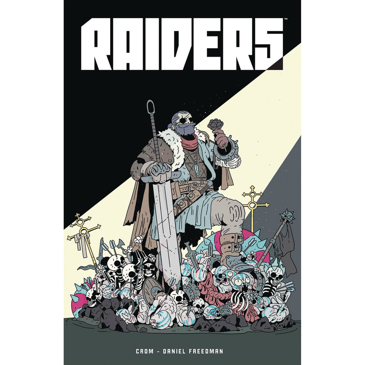 RAIDERS GRAPHIC NOVEL - DARK HORSE COMICS