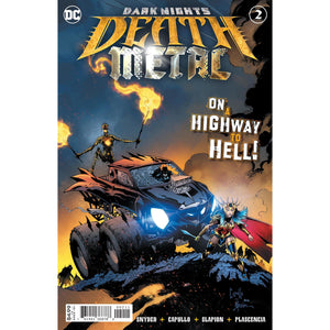 DARK NIGHTS DEATH METAL #2 (OF 6) - MAIN COVER A