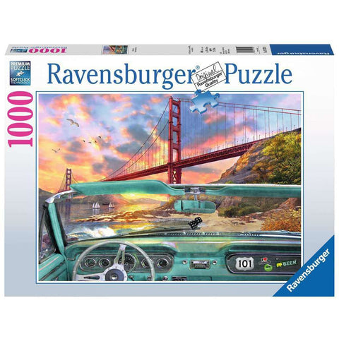 GOLDEN GATE 1000 PIECE PUZZLE