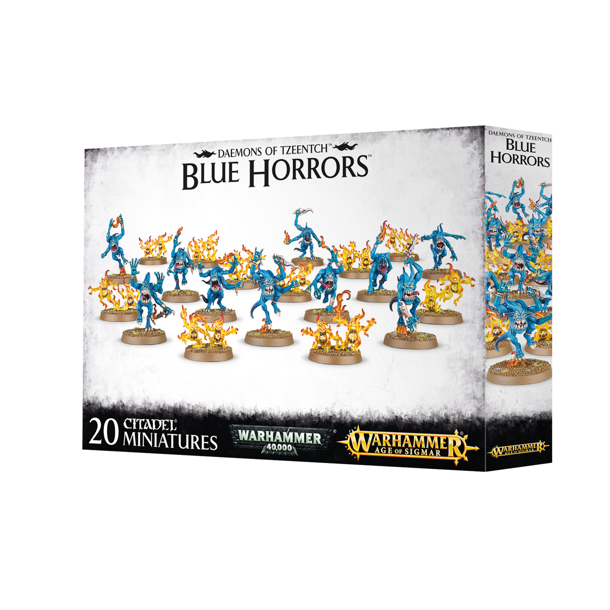 WARHAMMER AGE OF SIGMAR - DAEMONS OF TZEENTCH BLUE HORRORS