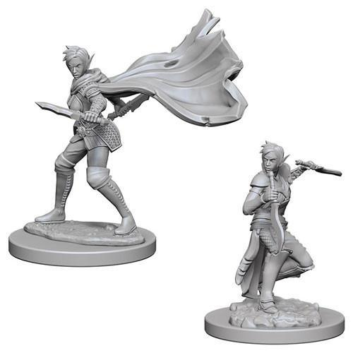 PATHFINDER BATTLES DEEP CUTS - ELF FEMALE ROGUE