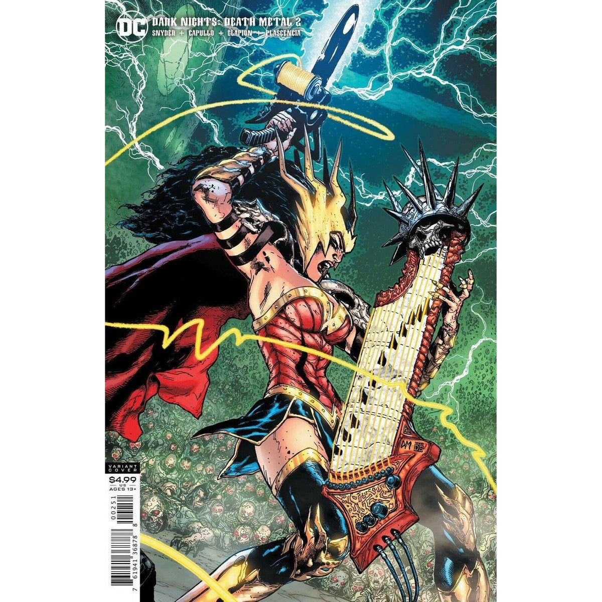 DARK NIGHTS DEATH METAL #2 (OF 6) -  1:25 DOUG MAHNKE VARIANT COVER E