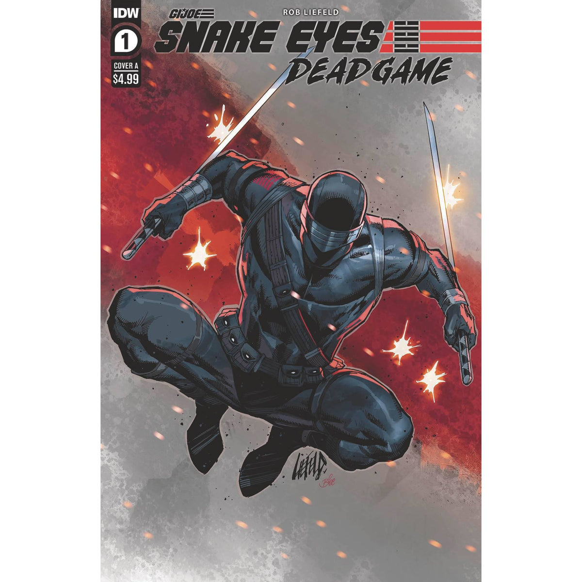 SNAKE EYES DEADGAME #1 COVER A LIEFELD
