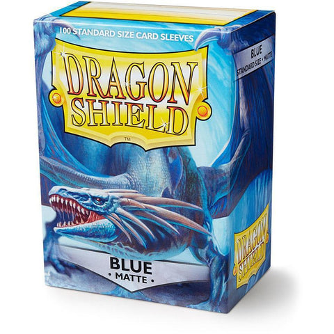 DRAGON SHIELD SLEEVES: BLUE MATTE