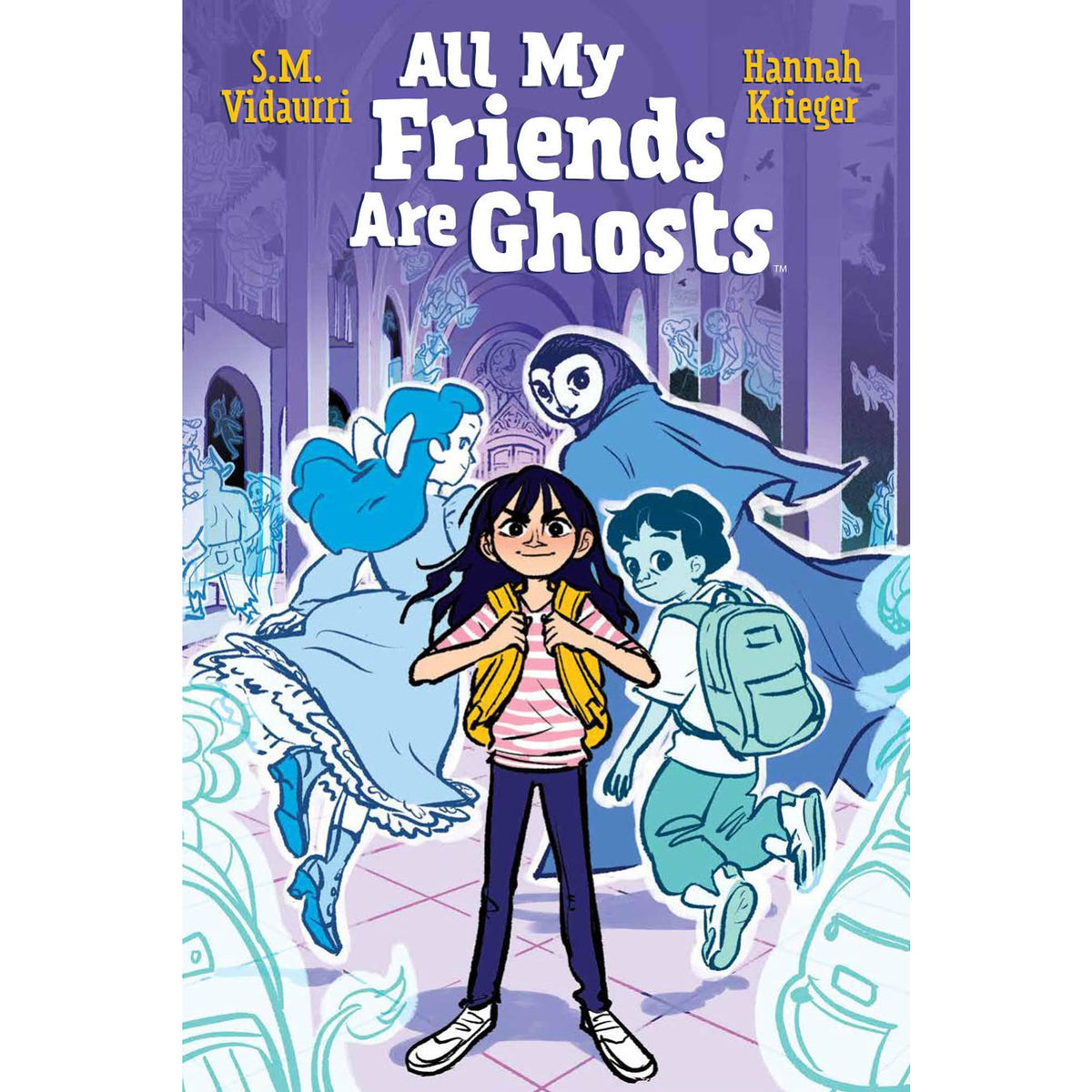 ALL MY FRIENDS ARE GHOSTS ORIGINAL GRAPHIC NOVEL