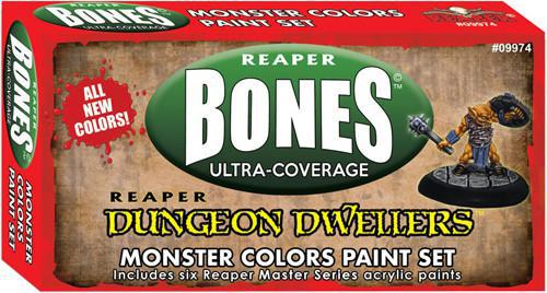 REAPER DUNGEON DWELLERS MONSTER COLORS PAINT SET