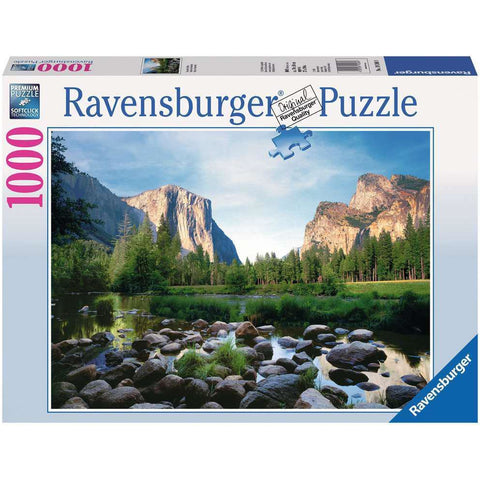 YOSEMITE VALLEY 1000 PIECE JIGSAW PUZZLE