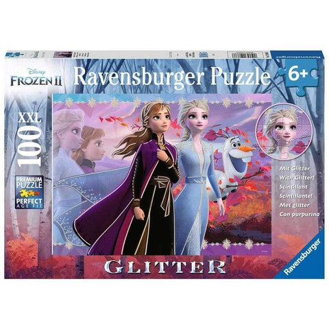 FROZEN II STRONG SISTERS 100 XXL PIECE PUZZLE WITH GLITTER