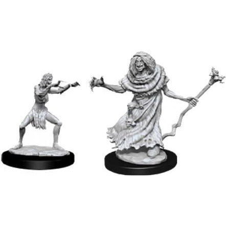 DUNGEONS & DRAGONS NOLZUR'S MARVELOUS UNPAINTED MINIATURES WAVE 12: SEA HAG & BHEUR HAG