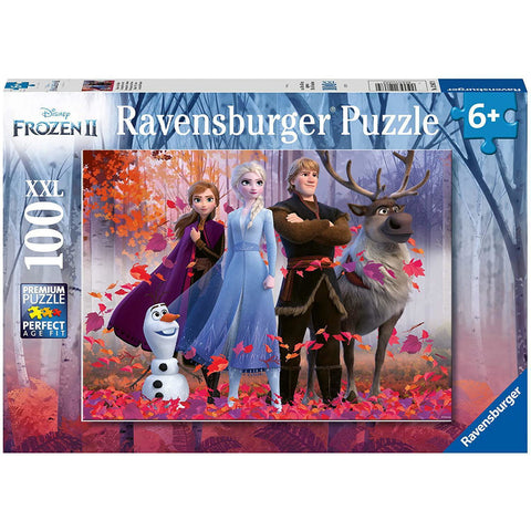 FROZEN II MAGIC OF THE FOREST PUZZLE 100 XXL PIECES