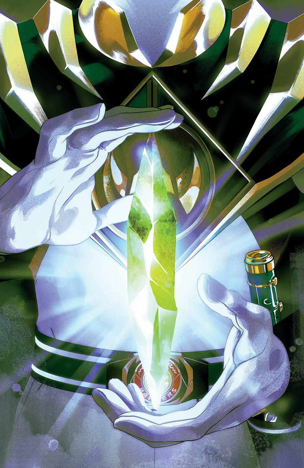 MIGHTY MORPHIN POWER RANGERS #54 FOIL MONTES VARIANT