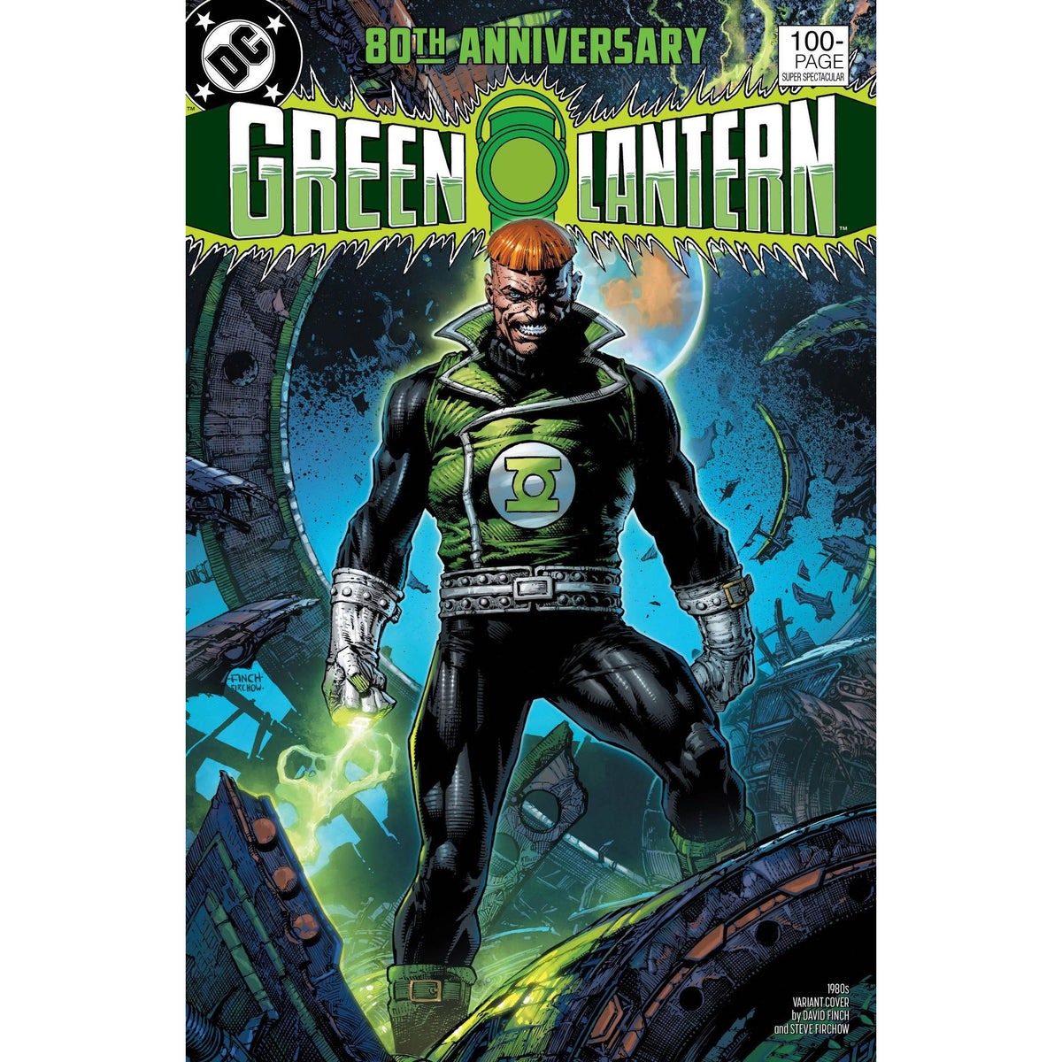 GREEN LANTERN 80TH ANNIVERSARY 100 PAGE SUPER SPECTACULAR #1 - 1980S FINCH COVER F - DC COMICS