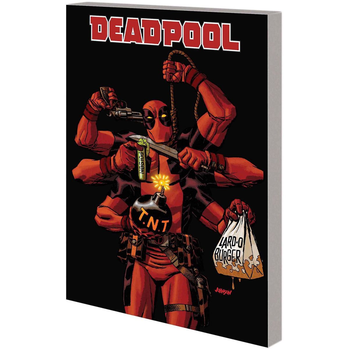 DEADPOOL  BY DANIEL WAY COMPLETE COLLECTION VOLUME  04
