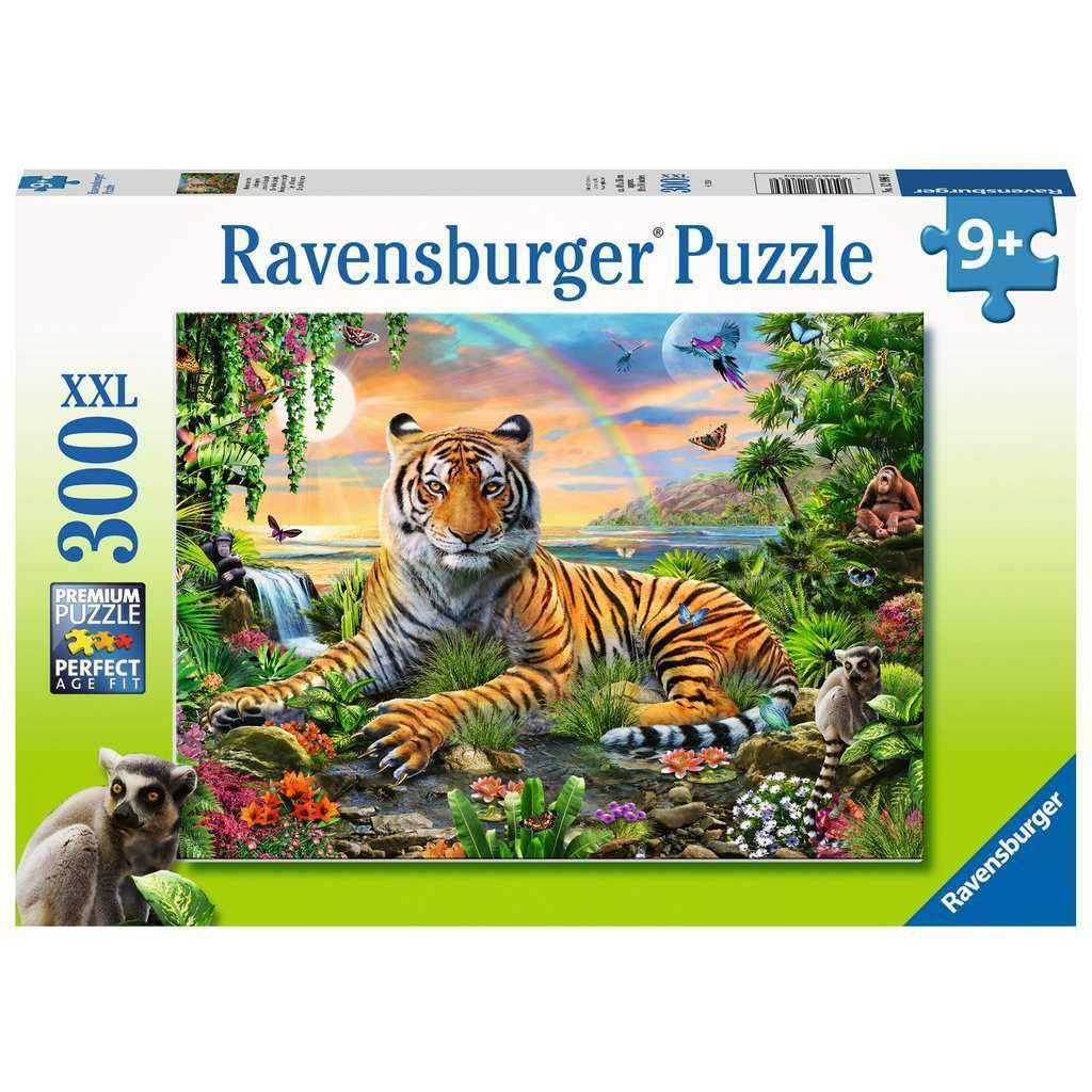 TIGER AT SUNSET 300 XXL PIECE PUZZLE
