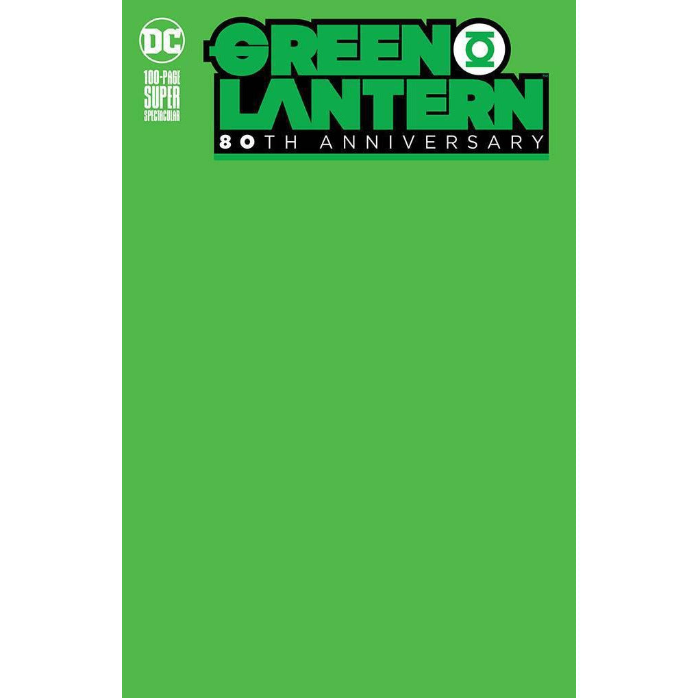 GREEN LANTERN 80TH ANNIVERSARY 100 PAGE SUPER SPECTACULAR #1 - BLANK COVER J - DC COMICS