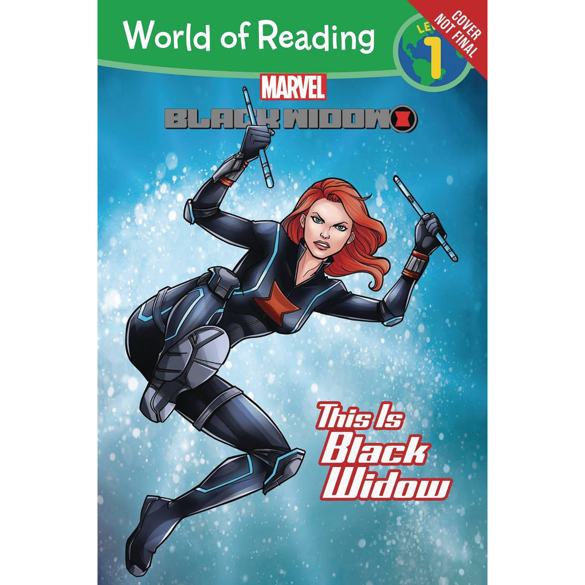 WORLD OF READING: THIS IS BLACK WIDOW