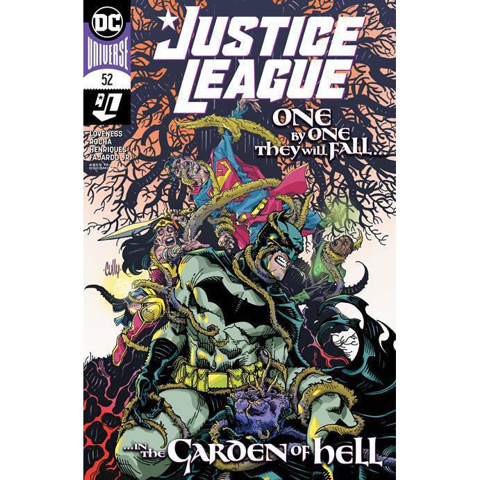 JUSTICE LEAGUE #52 - CULLY HAMNER COVER A