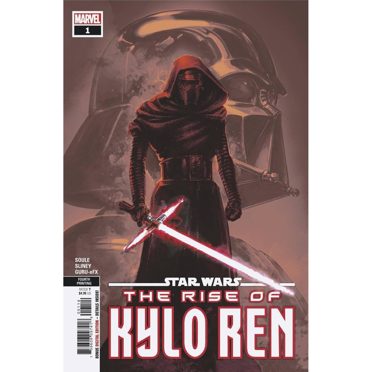 STAR WARS RISE KYLO REN #1 (OF 4) 4TH PRINTING - CRAIN VARIANT COVER