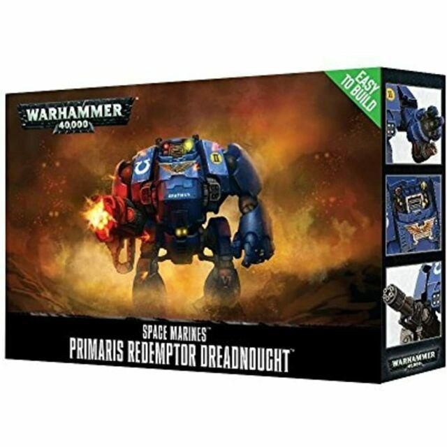 SPACE MARINES PRIMARIS REDEMPTOR DREADNOUGHT WARHAMMER 40K