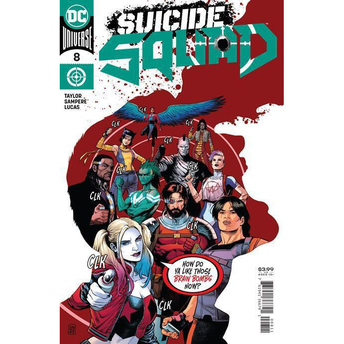 SUICIDE SQUAD #8 - SAMPERE COVER A