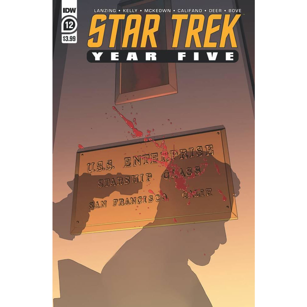 STAR TREK YEAR FIVE #12 - THOMPSON COVER A - IDW COMICS