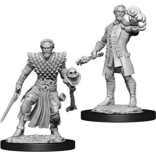 DUNGEONS & DRAGONS NOLZUR'S MARVELOUS UNPAINTED MINIATURES WAVE 10: MALE HUMAN WARLOCK