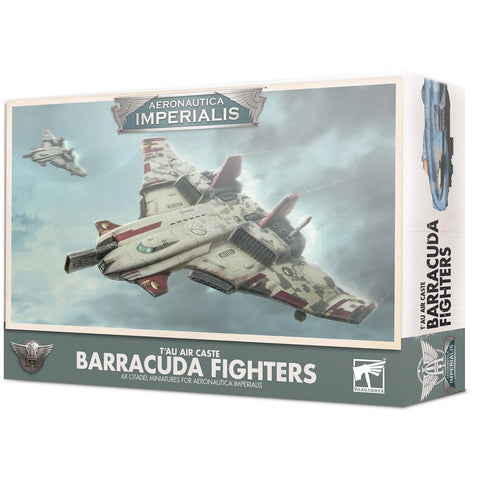 AERONAUTICA IMPERIALIS - BARRACUDA FIGHTERS - WARHAMMER 40K