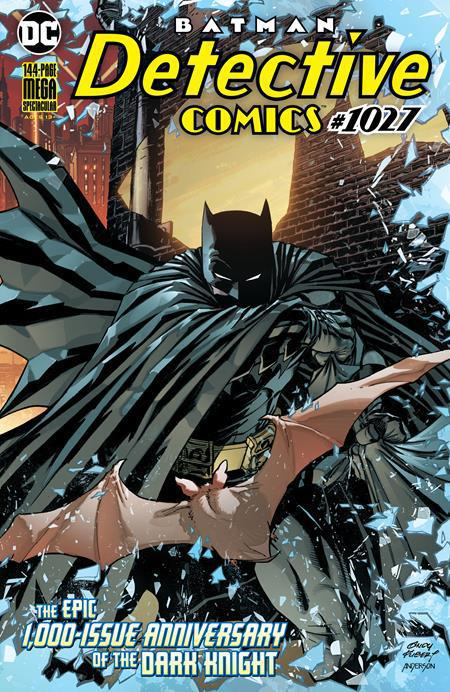 DETECTIVE COMICS #1027 COVER A ANDY KUBERT WRAPAROUND VARIANT