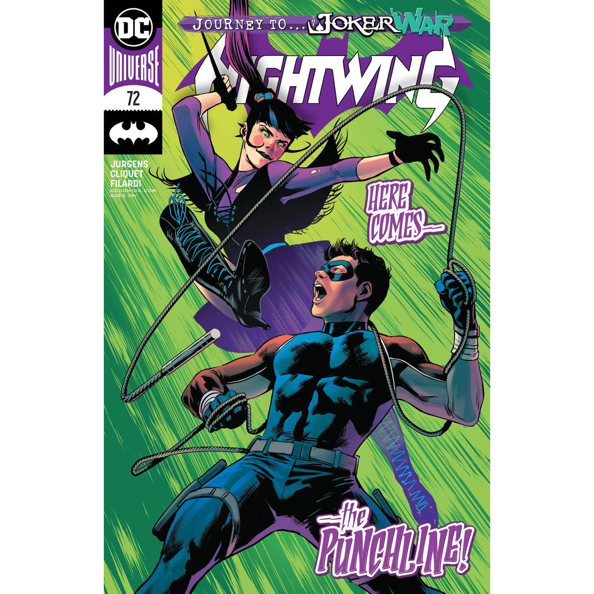 NIGHTWING #72 - MAIN COVER A