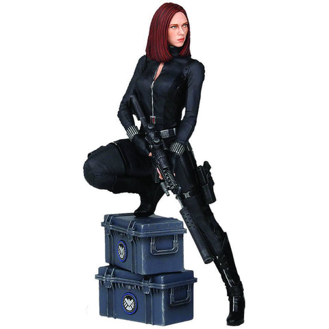 BLACK WIDOW STATUE from CAPTAIN AMERICA: WINTER SOLIDER