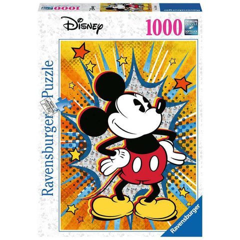 RETRO MICKEY 1000 PIECE PUZZLE