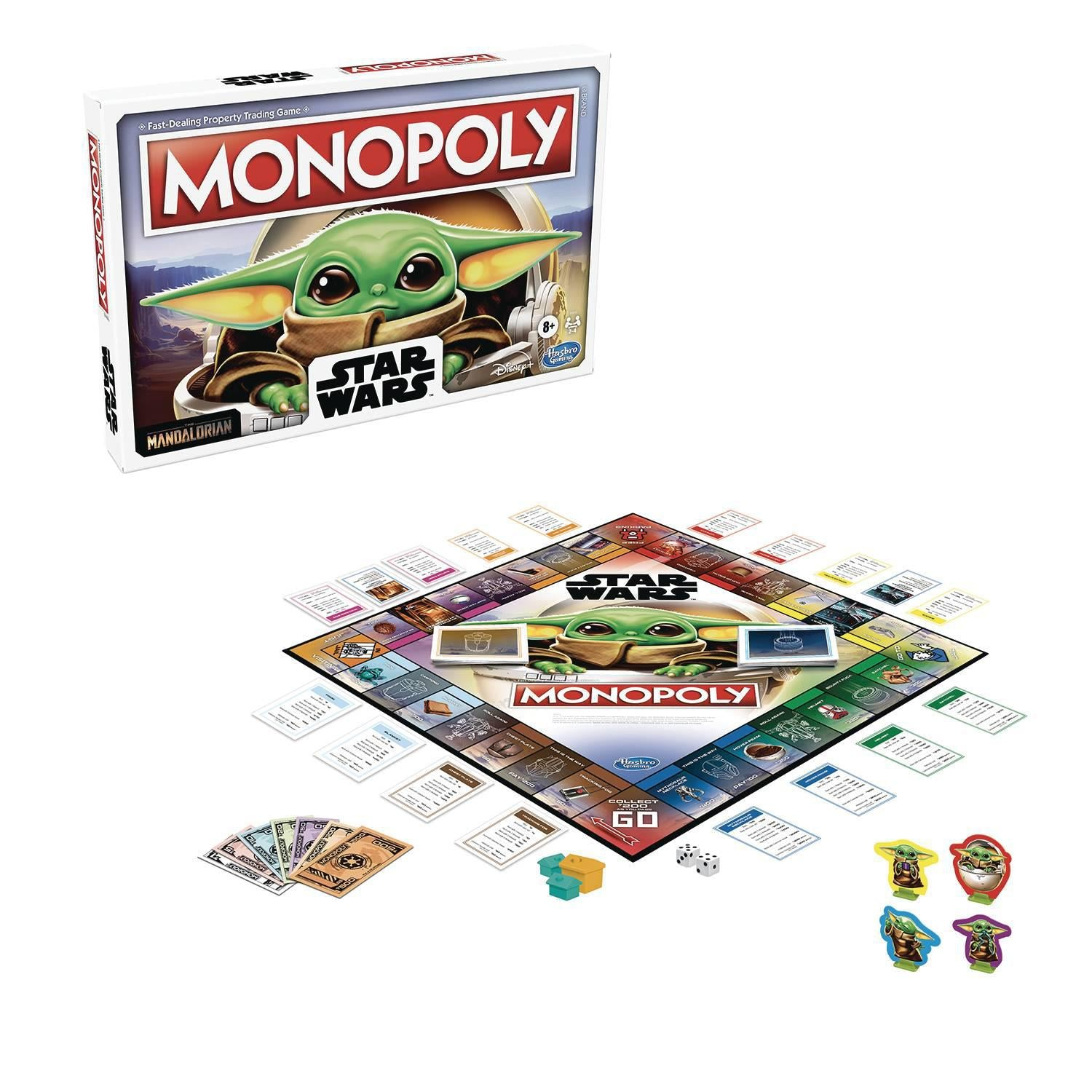STAR WARS MONOPOLY - THE MANDALORIAN - THE CHILD EDITION