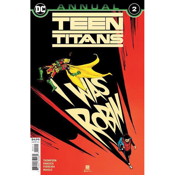 TEEN TITANS ANNUAL #2
