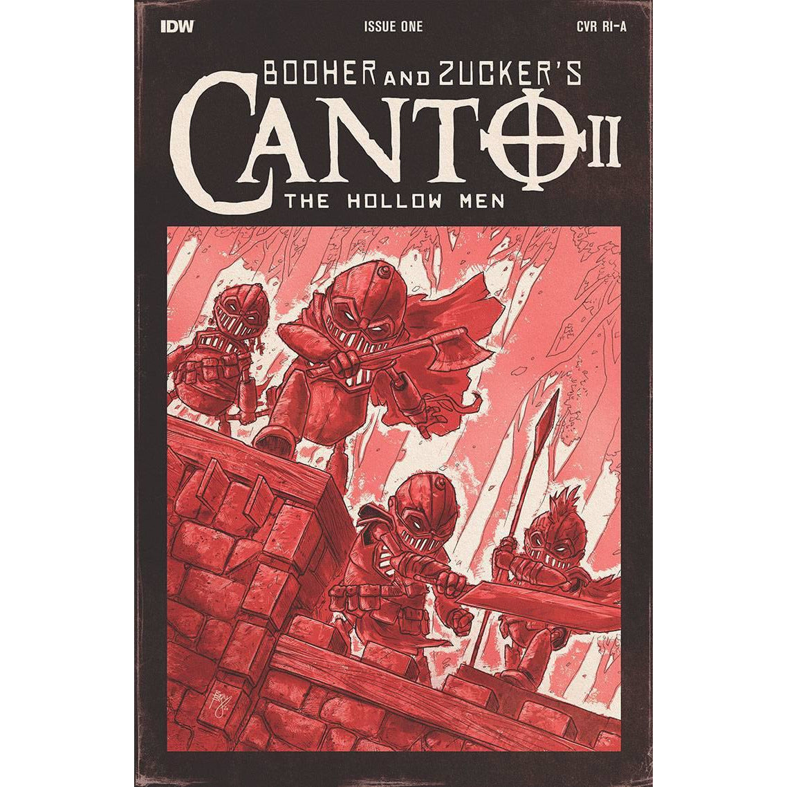 CANTO II HOLLOW MEN #1 (OF 5) 1:10 BISHOP VARIANT