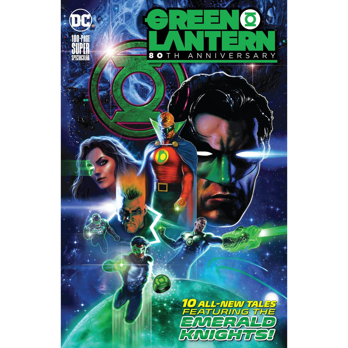 GREEN LANTERN 80TH ANNIVERSARY 100 PAGE SUPER SPECTACULAR #1 - SHARP MAIN COVER A - DC COMICS