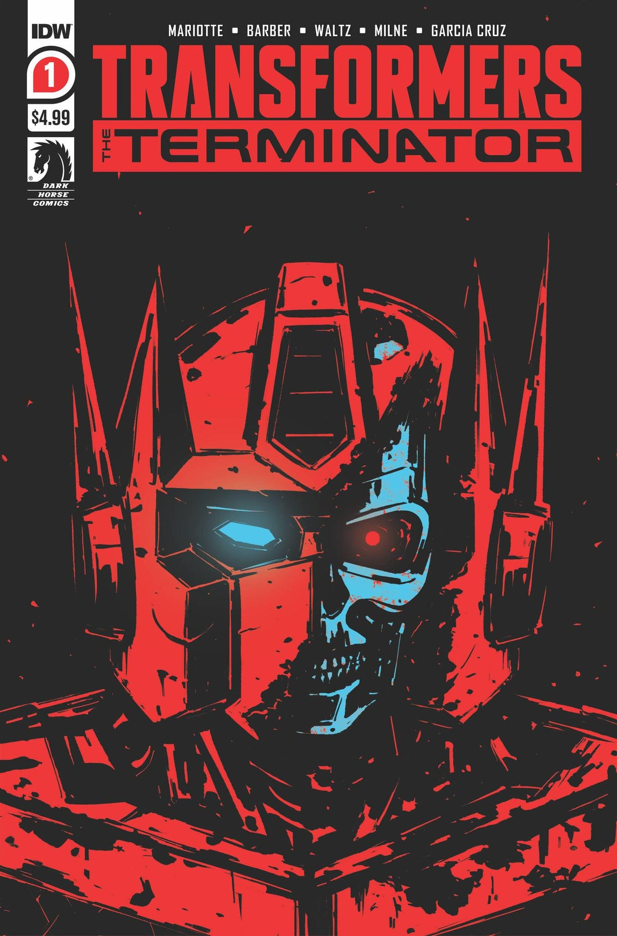 TRANSFORMERS VS TERMINATOR #1 (OF 4) 2ND PRINTING