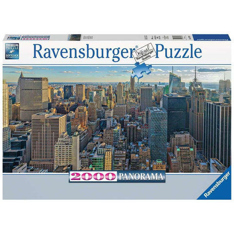 VISTA OVER NEW YORK 2000 PIECE PANORAMA PUZZLE