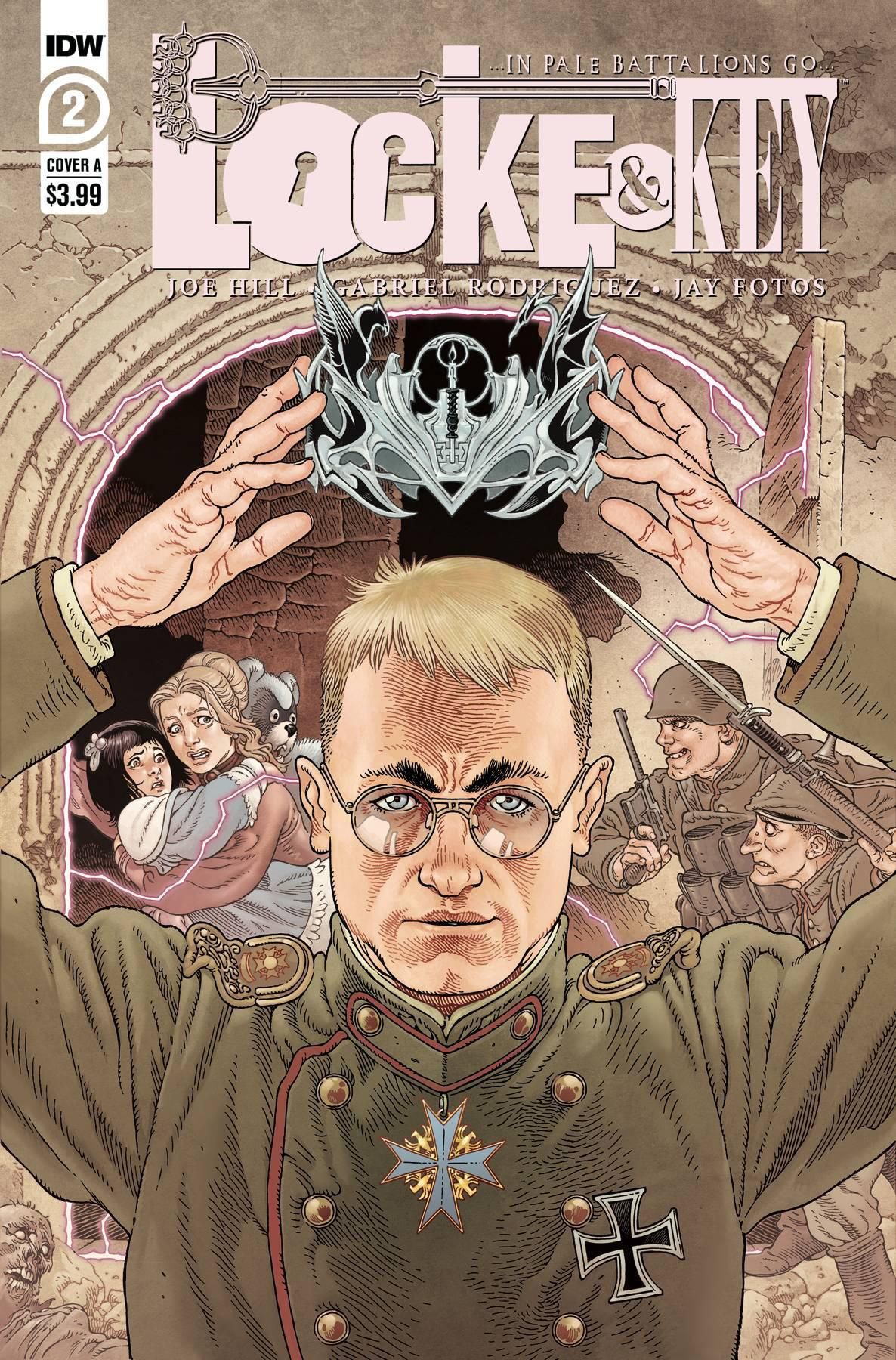 LOCKE & KEY IN PALE BATTALIONS GO #2 (OF 3)