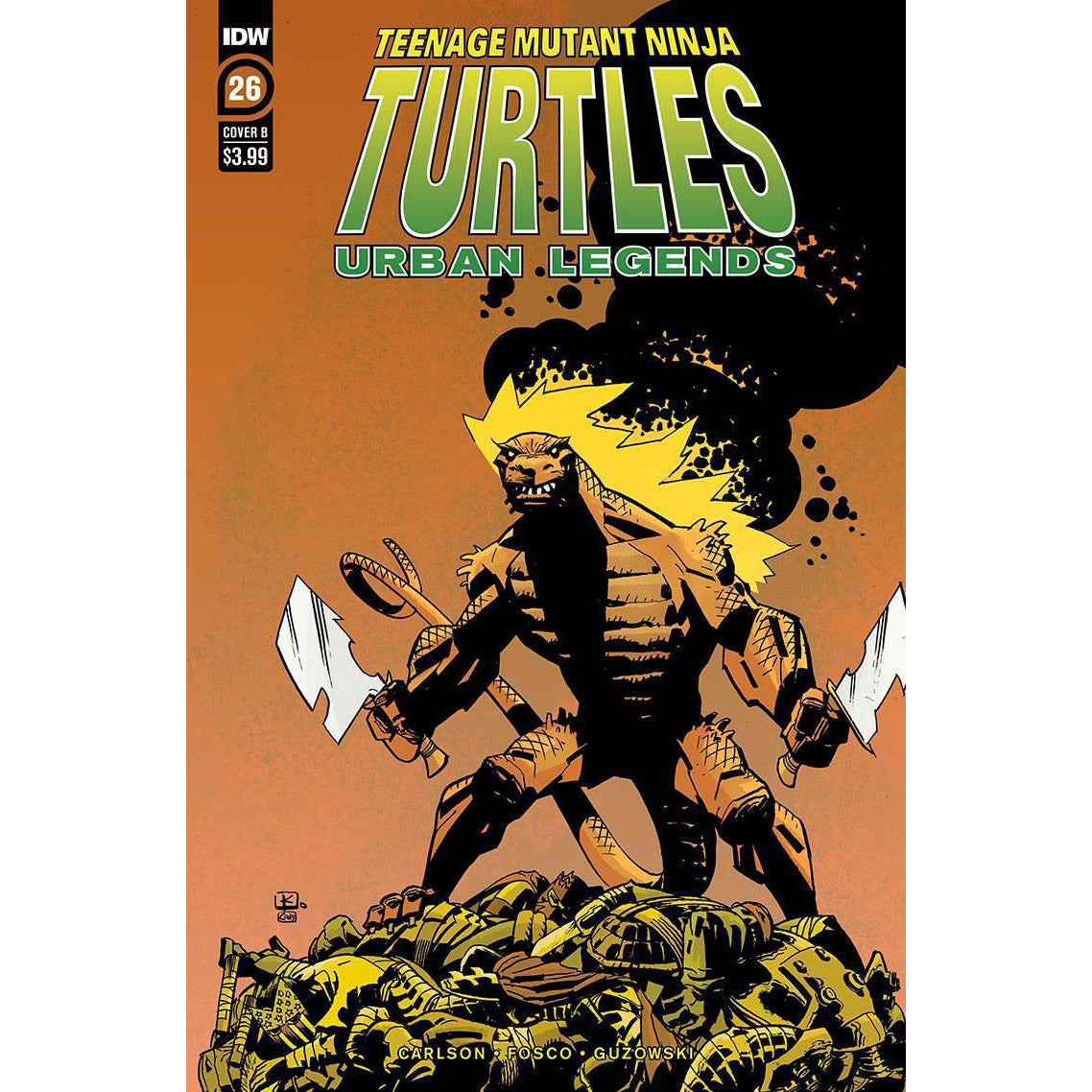 TMNT URBAN LEGENDS #26 - COVER B KUHN