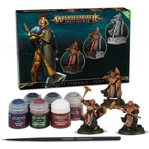 WARHAMMER AGE OF SIGMAR: EASY TO BUILD STORMCAST ETERNALS AND PAINT SENT